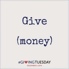 Give small, give big, give just because, just give. http://www.hipatlanta.org/givingtuesday.html #GivingTuesday