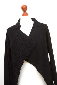 Damen SARAH PACINI Black Lagenlook Open Front Cardigan Size One Size   eBay Masai Clothing, Sarah Pacini, Odd Molly, Open Front Cardigan, Wool Cardigan, Clothing Company, Wool Blend, Black And Brown, Bell Sleeve Top
