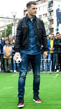 i don't prefer younger men... but for this soccer player, Granit Xhaka... i'll make an exception