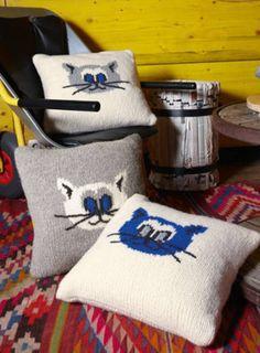 Télécharger Chou Chou Coussin déco - tricot tout de suite sur Makerist