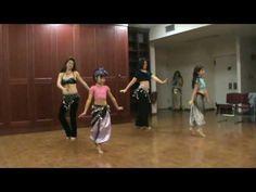 Little Girls Belly Dancing