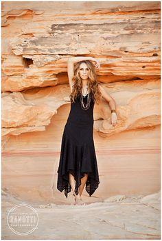 Las Vegas Desert Senior Pictures Jamie Zanotti 10