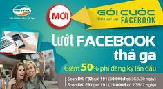 Đăng ký 3G gói Facebook Viettel siêu tiết kiệm