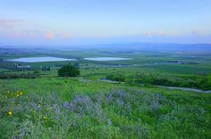 Valle di Izreel. I Madianiti, gli Amalekiti e i figliuoli dell'oriente si accamparono in questa valle per dar battaglia agli Israeliti guidati da Gedeone. L'Eterno dette nelle mani di Gedeone il campo di Madian. (di israel as i see it)