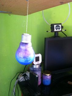 Nebula lamp