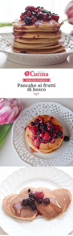 Pancake ai frutti di bosco
