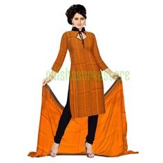 Beautiful ladies dress materials for for salwar kameez available online from #Sambalpur. Buy now: http://www.odishasareestore.com/handloom/oss6209-sambalpuri-cotton-salwar/p-5405372-53043075598-cat.html#variant_id=5405372-53043075598