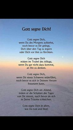 Gott segne dich & God bless you & The post God bless you & appeared first on Brautschleier. God Bless You, Baby Quotes, Baby Sayings, God First, God Is Good, Faith Quotes, Trust God, Christian Quotes, Gods Love
