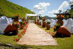 Casamento no campo - maravilhoso