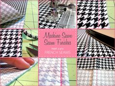 Sewforhome.com:  Machine Sewn Seam Finishes - French Seams - Part 2 of 4