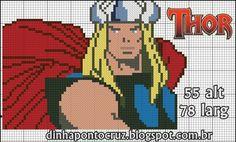 Thor pattern by Dinha Ponto Cruz