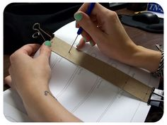 book binding Planner Pages