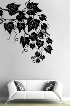 Wall Decals Ivy- WALLTAT.com Art Without Boundaries