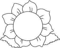 Resultado de imagen para flores y hojas para colorear