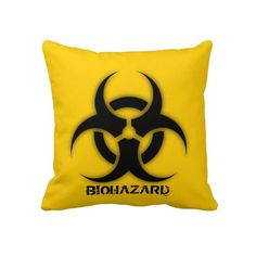 Biohazard Customizable Pillows