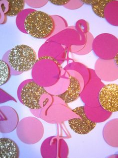 This confetti is perfect to add to any partys decor. Works great for luau and hawaii themed parties. WHAT YOULL GET: • 100 pieces of