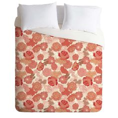Sabine Reinhart Red Roses Duvet Cover | DENY Designs Home Accessories