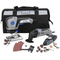 Dremel -CKDR-01 3-Tool Combo Kit with 25 Accessories. I don't know or understand half of what it does, but I want it anyway.