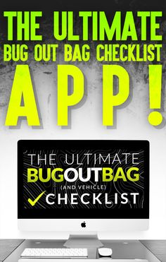 """Claim your very own copy of our """"Ultimate Bug Out Bag Checklist APP"""" today! Survival Shelter, Survival Prepping, Survival Gear, Survival Skills, Survival Clothing, Bug Out Bag Checklist, Apocalypse Survival Kit, Get Home Bag"""