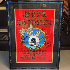 Ween limited edition print custom framed with acid-free matting, UV glass and frame by @bellaprisma! #art #pictureframing #customframing #denver #colorado #ween