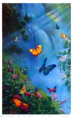 Butterflies in the Mist (SunsOut 1000)