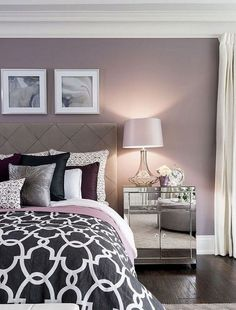 Modern French Country Master Bedroom - One Room Challenge Reveal Stylish Bedroom, Shabby Chic Bedrooms, Modern Bedroom, Guest Bedrooms, Bedroom Color Schemes, Bedroom Colors, Home Decor Bedroom, Bedroom Ideas, Bedroom Furniture