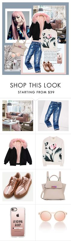 """""""Parka 2"""" by style-stories ❤ liked on Polyvore featuring Shibuya, Frontgate, Tommy Hilfiger, Burberry, ZAC Zac Posen, Casetify and Le Specs"""