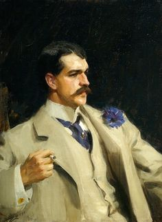 Anders Zorn, Portrait of William B. Ogden, 1895.