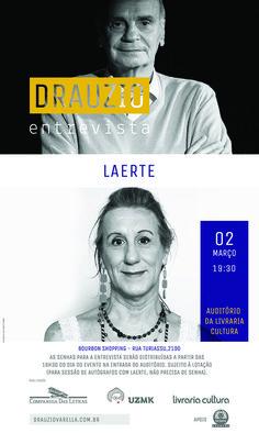 .: Drauzio entrevista Laerte - Livraria Cultura Shopping Bourbon, em SP