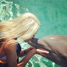 Love dolphins! I want to go back to the Bahamas!! Dolphin Encounters, Nassau