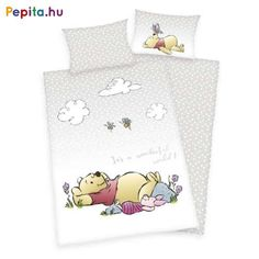 Baby-Renforcé-Bettwäsche Winnie The Pooh - cm RollerRoller Design Set, Winnie The Pooh, Disney World Pictures, Cotton Sheets, Baby Sheets, Walt Disney, Linen Bedding, Bed Linen, More Fun