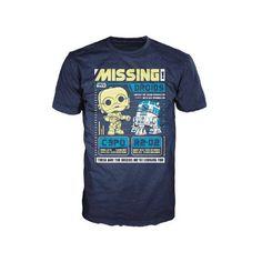 T-shirt POP Star Wars C-3PO et R2-D2