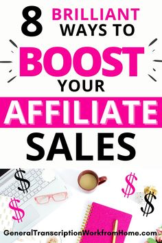 Want to make more affiliate sales? Learn how to make money with affiliate marketing. Use these powerful marketing strategies to boost your affiliate sales. Make passive income and make money online even while you're sleeping or on vacation. #affiliatemarketing #affiliatemarketingforbeginners #affiliatemarketingtips #passiveincome #onlineincome #makemoneyonline #makemoneyblogging Make Money On Amazon, Way To Make Money, Make Money Online, Online Income, Online Jobs, Amazon Affiliate Marketing, How To Start A Blog, How To Make, Marketing Strategies
