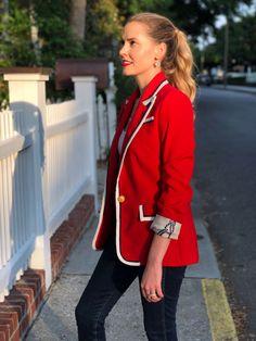Megan Francine Gucci Inspired Jasika Blazer Pattern: Closet Case Patterns Keep My Cool, Pick Stitch, B And J Fabrics, Blazer Pattern, Fabric Manipulation, Wool Fabric, Gucci, Inspired, Clothes For Women