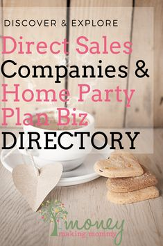 Trying to find the best direct sales companies to suit your personality? Huge list of the newest and more traditional companies out there. Home Party Business, Successful Home Business, Home Based Business, Business Ideas, Online Business, Direct Sales Companies, Direct Sales Tips, Direct Selling, Earn Money From Home