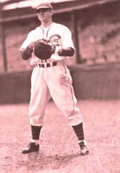"""Robert Michael """"Bob"""" Garbark was a mutli-sport athlete and coach. He played Major League Baseball as a catcher with the Cleveland Indians, Chicago Cubs, Philadelphia Athletics, and Boston Red Sox. Garbark coached baseball at his alma mater, Allegheny College, for 32 seasons. He also coached football for Allegheny in 1946, and basketball at the school for 19 seasons. Garbark played on the football team as a fullback and was captain of the team in 1931. Philadelphia Athletics, Crawford County, Alma Mater, Cleveland Indians, Boston Red Sox, Major League, Chicago Cubs, Football Team, Catcher"""