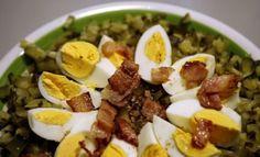 Sałatka z kaszy gryczanej na ciepło Salads, Eggs, Breakfast, Food, Morning Coffee, Essen, Egg, Meals, Yemek