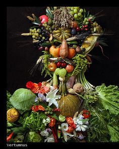 klaus enrique : the arcimboldo series