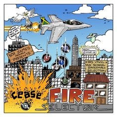 Sir James proudly presents CEASE FIRE SELECTOR , Volume 5 of the Jamaican Oldies Vinyl Mixes, late 80s dancehall style !  FB page : https://www.facebook.com/SirJamesReggae/