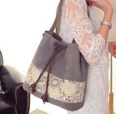 KAUKKO kanvas omuz çantası (SB109)