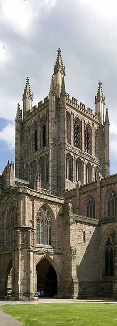 Hereford Cathedral, lovely art