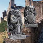 Found it at Wayfair - Design Toscano The Arthurian Dragon Sword and Shield Statue