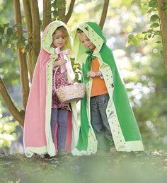 Nature-Themed Cloaks