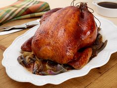 Maple Brined Roast Turkey from FoodNetwork.com