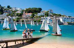 Salcombe: Enjoy a romantic holiday break in sailing paradise Devon Coast, Devon Uk, South Devon, Devon And Cornwall, Devon England, British Travel, British Seaside, Beautiful Places To Visit, Places To See