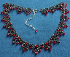 Free pattern for necklace Sorbo .........................................................................................................Schmuck im Wert von mindestens   g e s c h e n k t  !! Silandu.de besuchen und Gutscheincode eingeben: HTTKQJNQ-2016