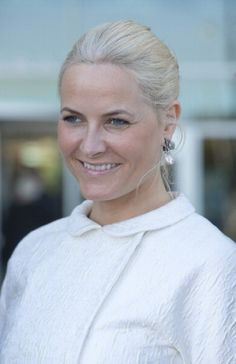 Mette-Marit, Crown Princess of Norway attends the OTC dinner at Reliant Stadium, during day one of their five day offficial visit to the USA, on 5 May 2013 in Houston