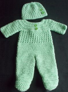 Crocheted/Knitted Preemie Clothes on Pinterest Preemies ...