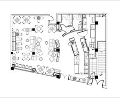 typical starbucks floor plan - Google Search