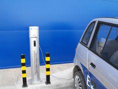 Instalación de puntos de recarga para vehiculos electricos de exterior e interior